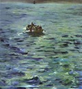 Edouard Manet The Escape of Rocherfort