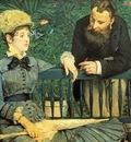 Manet, Edouard Dans la Serre end