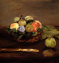 Manet Edouard Basket Of Fruit
