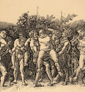 Mantegna Andrea Bacchanal with Silenus