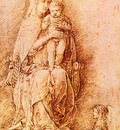 Mantegna Andrea Madonna and child
