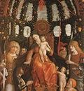 Mantegna Madonna of Victory, Musee du Louvre, Paris