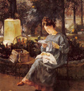 Marec Victor Afternoon In Luxembourg Gardens
