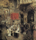 Procession At The End of Mass