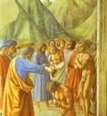 Masaccio S Pietro battezza un neofita