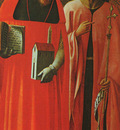 Masolino St  Jerome and St  John the Baptist, 1428, National
