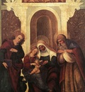 MAZZOLINO Ludovico Madonna And Child With Saints