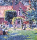 melchers unpretentious garden 1906