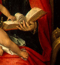 MEMLING MADONNA AND CHILD WITH ANGELS,DETALJ 8, NGW