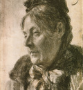 The Head of a Woman