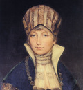 Portrait of a Woman in a Bonnet