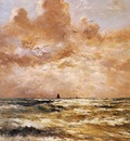 Mesdag Hendrik Willem Back From Sea Sun