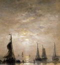 Mesdag Hendrik Willem Evening Mood Sun