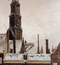 Mesdag Hendrik Willem Wester Toren In Amsterdam Sun