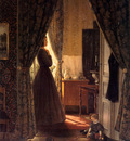 Mesdag Hendrik Willem Woman In Interior Sun