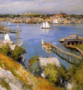 Metcalf Williard Leroy Gloucester harbour Sun