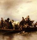 Meyerheim Wilhelm Alexander The Arrival Of The Ferry