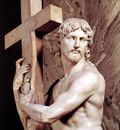 Michelangelo Christ Carrying the Cross detail1