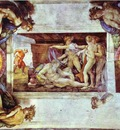 Michelangelo The Drunkenness of Noah