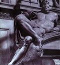 Michelangelo Tomb of Lorenzo de Medici detail