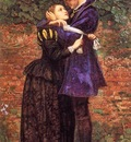 Millais, John Everett The Huguenot end