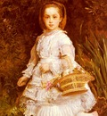 Millais Sir John Everett Portrait Of Gracia Lees