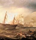 Miller Charles Henry Shipping Off Gibraltar