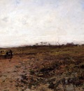 Millet Jean Francois Landscape With Two Peasant Women