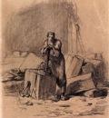 Millet Jean Francois Un Tailleur De Pierres