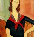 Young Woman With Silk Neckerchief , Modigliani 1600x1200