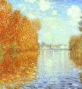 Claude Monet Autumn at Argenteuil