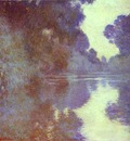 Claude Monet Branch of the Seine Near Giverny