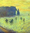 Claude Monet Cliffs at Etretat