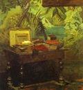 Claude Monet Studio Corner
