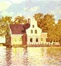 Claude Monet The House on the River Zaan in Zaandam
