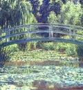 Claude Monet The Japanese Bridge