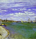 Claude Monet The Regatta at Saint Adresse