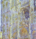 Claude Monet The Rouen Cathedral at Noon