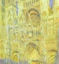 Claude Monet The Rouen Cathedral in the Evening