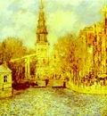 Claude Monet Zuiderkerk in Amsterdam