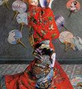 Monet Claude Camille in costume Sun