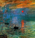 Monet Claude Impression sunset Sun