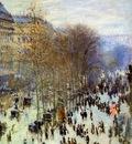 Monet Claude The Boulevard des Capucines Sun
