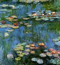 Monet Claude Water lillies Sun