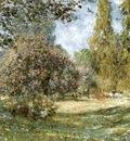 Monet Landscape Parc Monceau, Paris