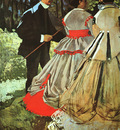 Monet Le Dejeuner sur lHerbe The Picnic , detail