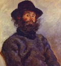 Monet Portrait of Poly, the Fisherman from Belle Ile