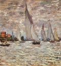 Monet Regatta at Argenteuil, 1874, Musee dOrsay, Paris