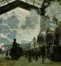 Monet Saint Lazare Station, 1877, 54 3x73 6 cm, NG London