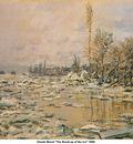 Monet The Break up of the Ice